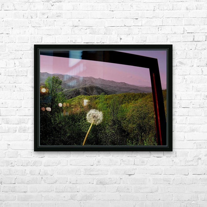 Alone yet Connected HD Sublimation Metal print with Decorating Float Frame (BOX)