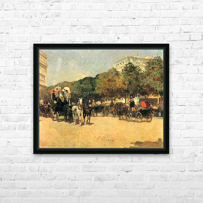 The day of the Grand Prize -2- by Hassam HD Sublimation Metal print with Decorating Float Frame (BOX)