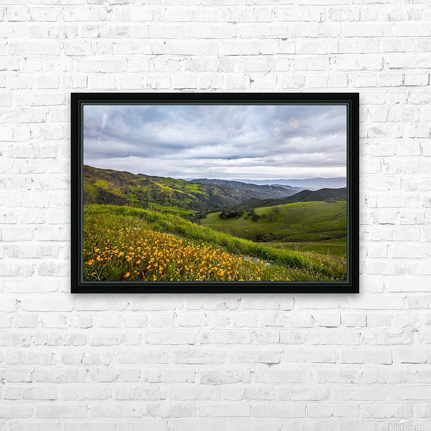California is home HD Sublimation Metal print with Decorating Float Frame (BOX)