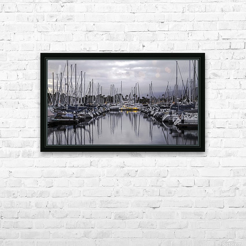 Boat Mess HD Sublimation Metal print with Decorating Float Frame (BOX)