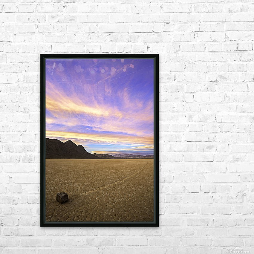 Mysterious World HD Sublimation Metal print with Decorating Float Frame (BOX)