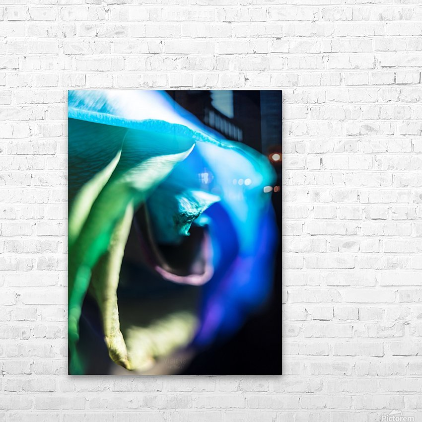 A bit of blue HD Sublimation Metal print with Decorating Float Frame (BOX)