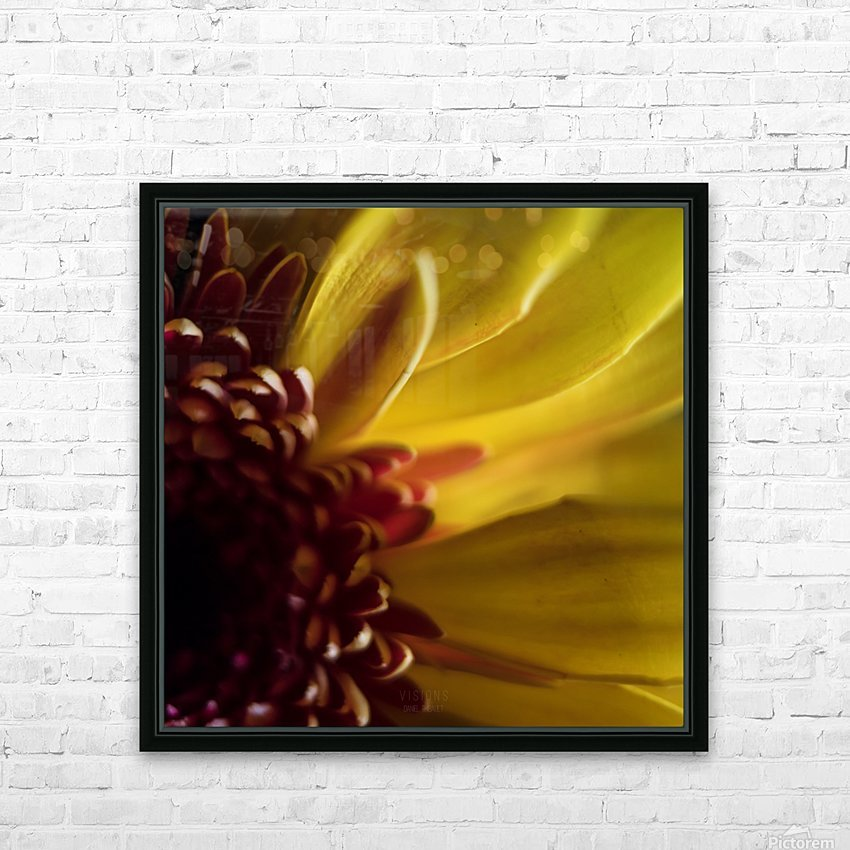 Jaune 2 HD Sublimation Metal print with Decorating Float Frame (BOX)