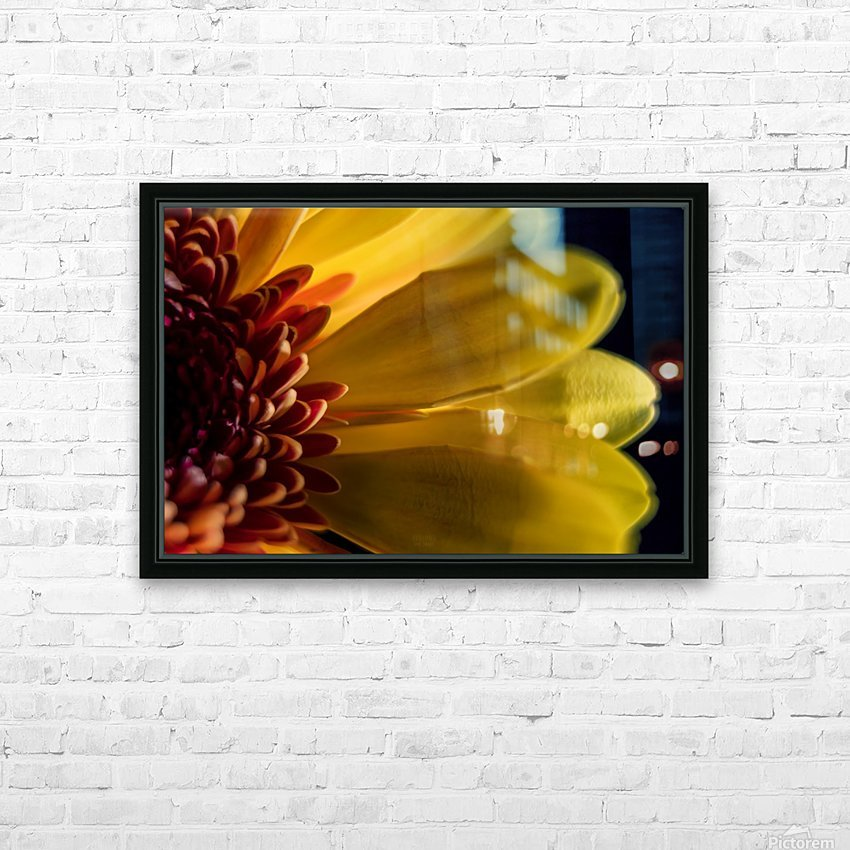 Jaune 1 HD Sublimation Metal print with Decorating Float Frame (BOX)
