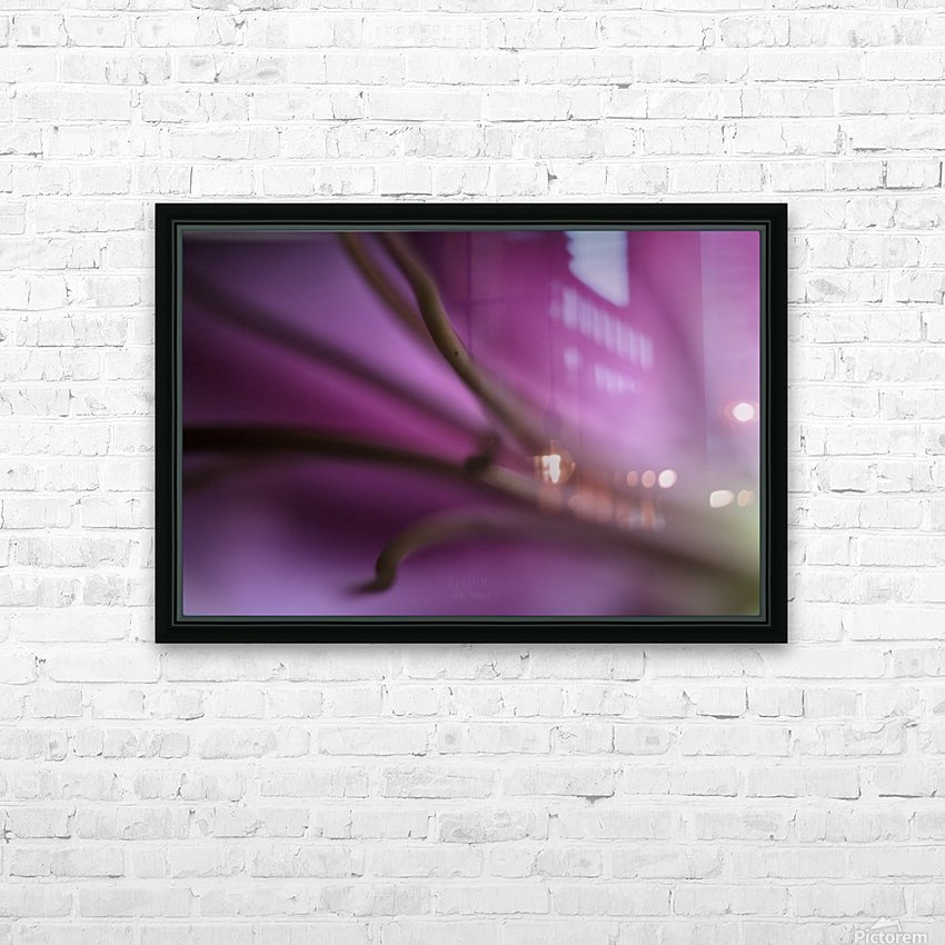 Pinky 1 HD Sublimation Metal print with Decorating Float Frame (BOX)
