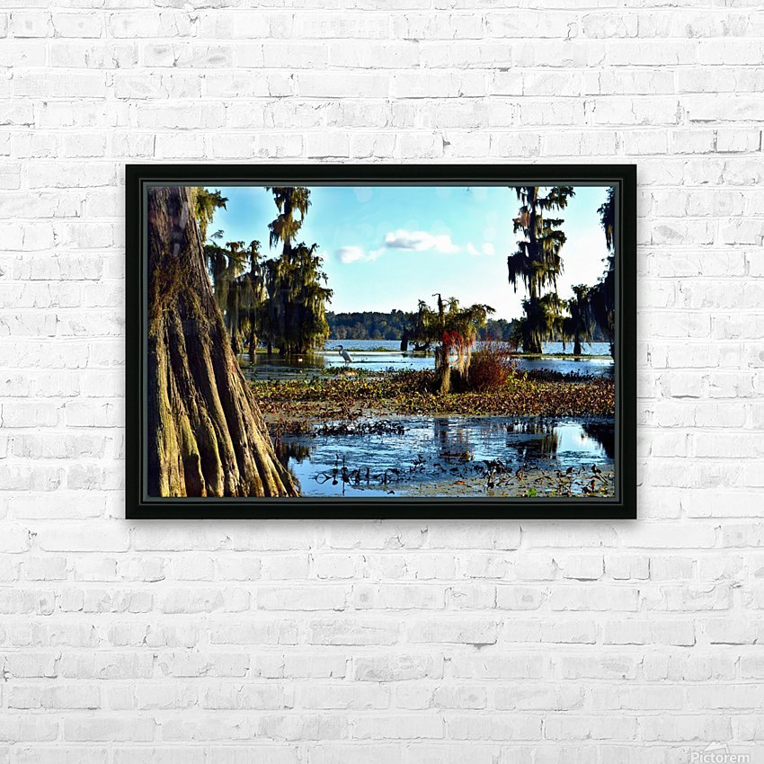 Seek Me Out HD Sublimation Metal print with Decorating Float Frame (BOX)