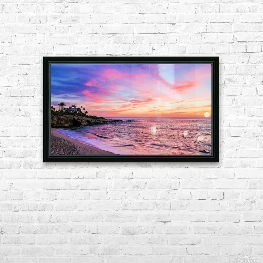 Miss La Jolla HD Sublimation Metal print with Decorating Float Frame (BOX)