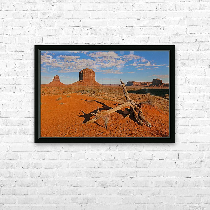 Witness of Time HD Sublimation Metal print with Decorating Float Frame (BOX)
