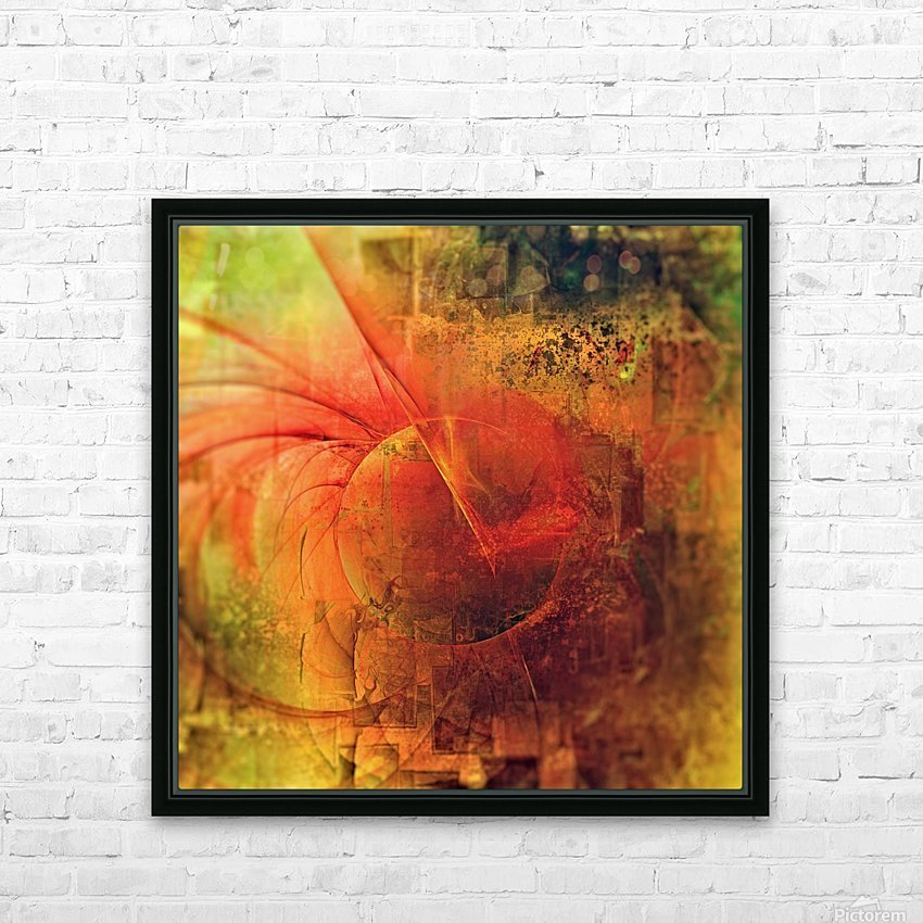 Terra by Jean-François Dupuis HD Sublimation Metal print with Decorating Float Frame (BOX)