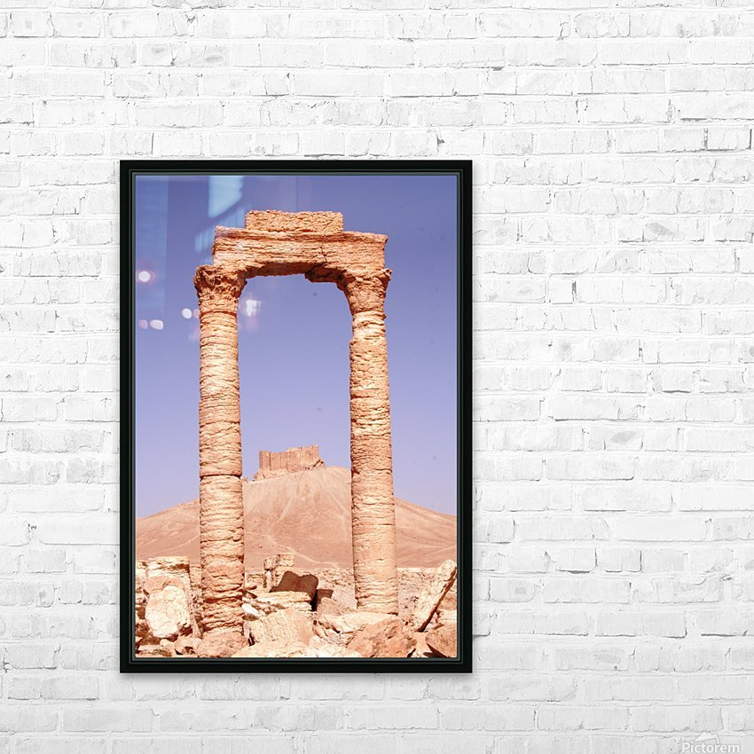 Palmyra HD Sublimation Metal print with Decorating Float Frame (BOX)