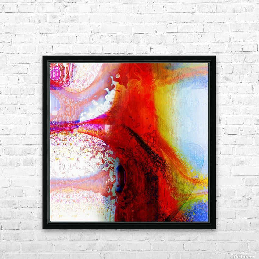 Atilafractalus 5 HD Sublimation Metal print with Decorating Float Frame (BOX)