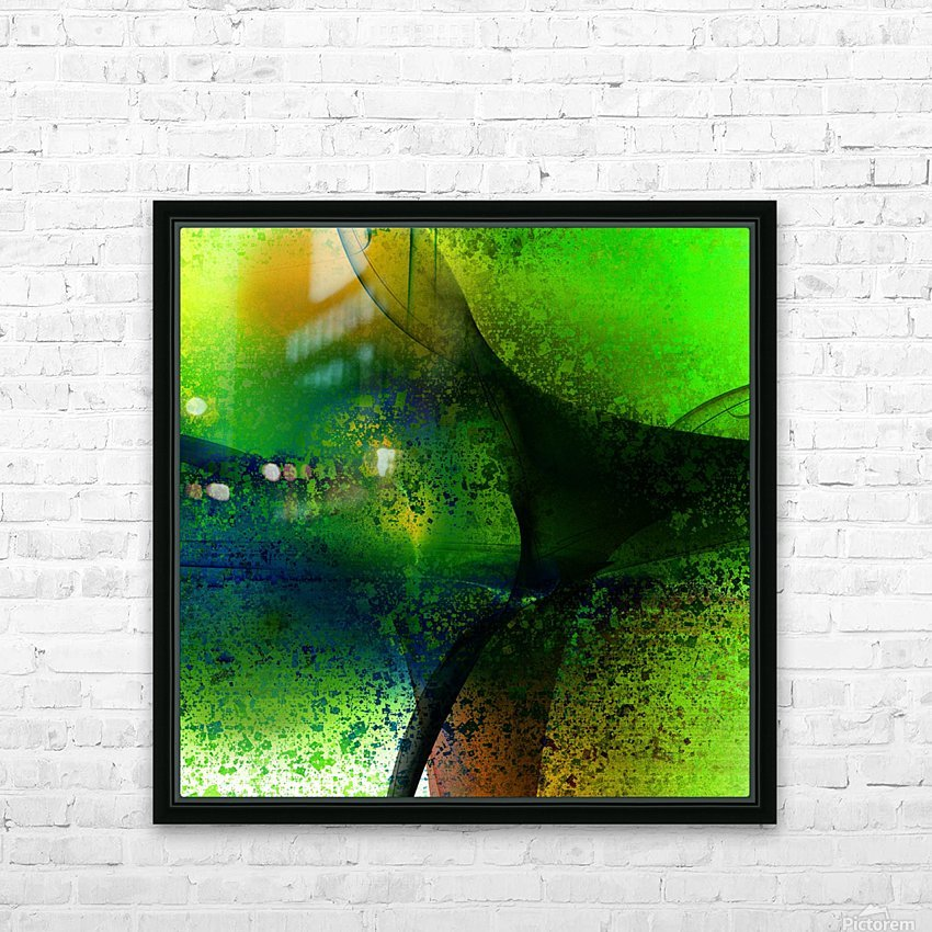 Frazla by Jean-François Dupuis  HD Sublimation Metal print with Decorating Float Frame (BOX)