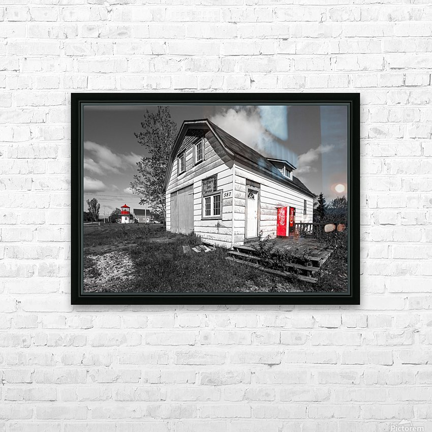 Northern Sea Services HD Sublimation Metal print with Decorating Float Frame (BOX)