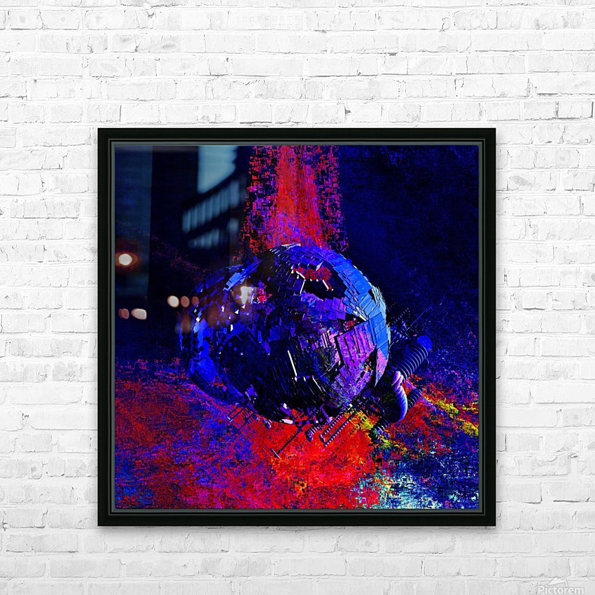 Zaurusia (149) HD Sublimation Metal print with Decorating Float Frame (BOX)