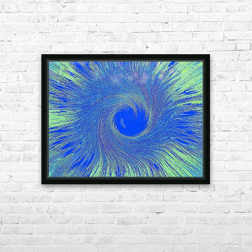 Blue Storm 1  HD Sublimation Metal print with Decorating Float Frame (BOX)