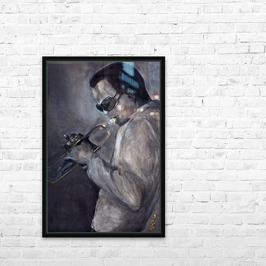 Jazz_High_Res HD Sublimation Metal print with Decorating Float Frame (BOX)