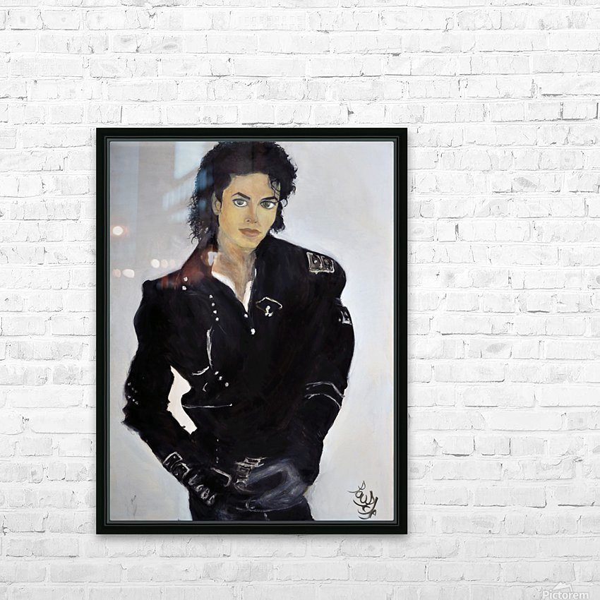 Michael_High_Res HD Sublimation Metal print with Decorating Float Frame (BOX)