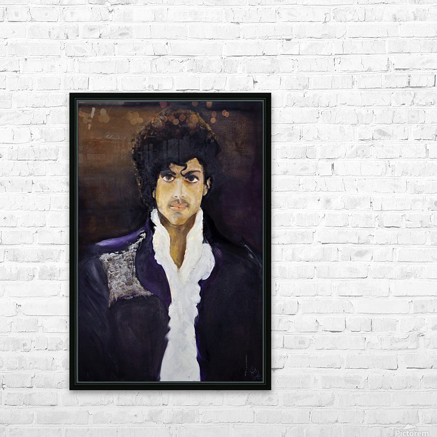 Prince_High_Res HD Sublimation Metal print with Decorating Float Frame (BOX)