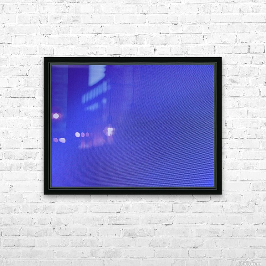 threw my hands to the ground HD Sublimation Metal print with Decorating Float Frame (BOX)