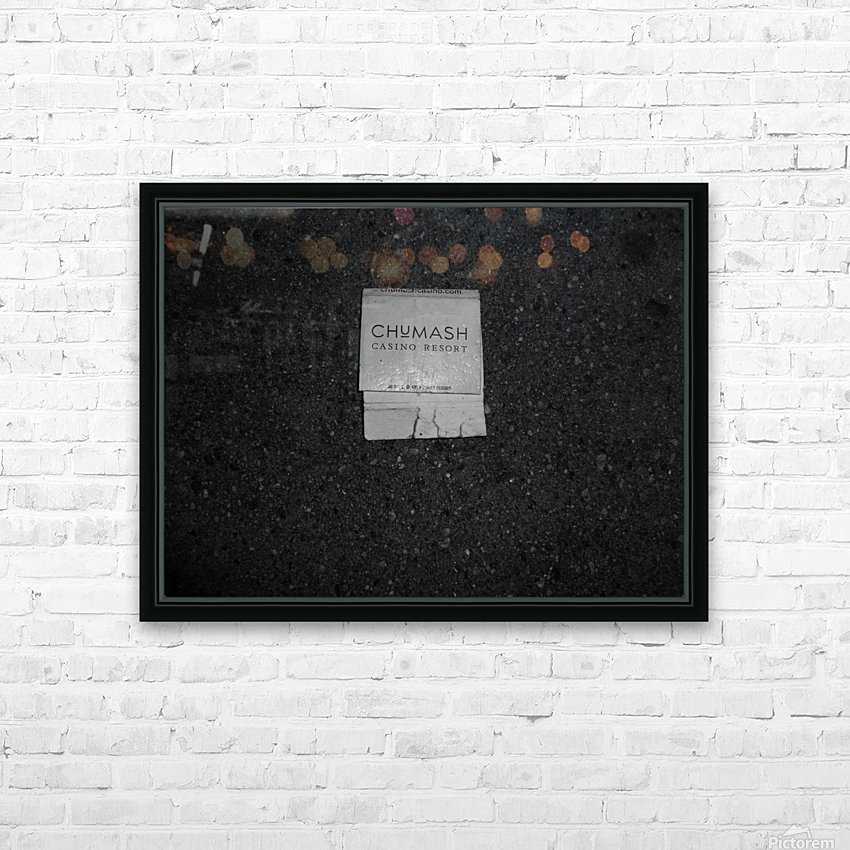 run it over and light it up on fire HD Sublimation Metal print with Decorating Float Frame (BOX)