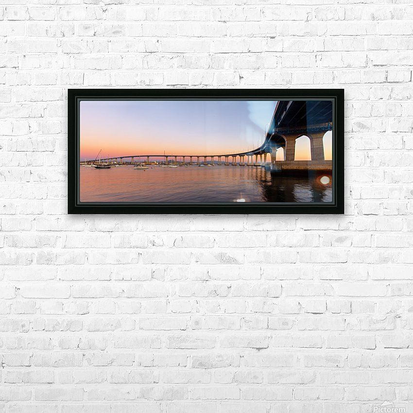 Timeless Symphony HD Sublimation Metal print with Decorating Float Frame (BOX)