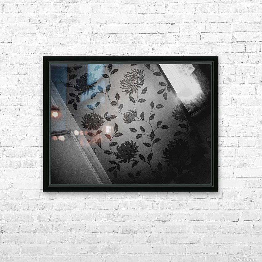 At The End HD Sublimation Metal print with Decorating Float Frame (BOX)