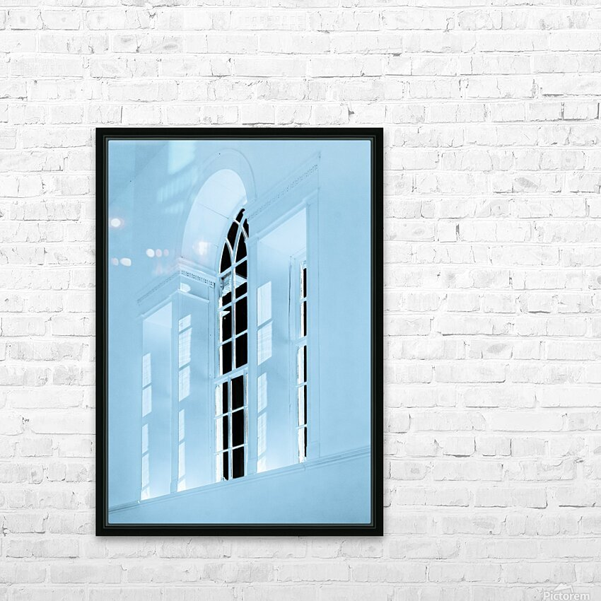 Acworth Church 2 HD Sublimation Metal print with Decorating Float Frame (BOX)