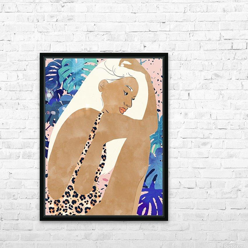 Jaguar Soul HD Sublimation Metal print with Decorating Float Frame (BOX)