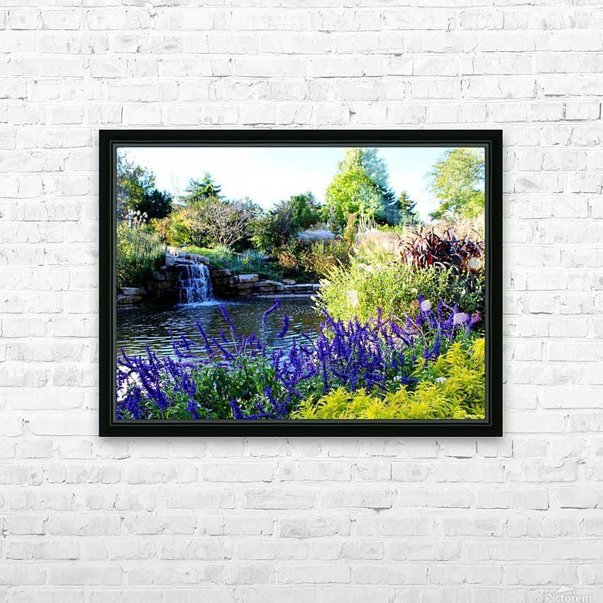 The Power of Water HD Sublimation Metal print with Decorating Float Frame (BOX)