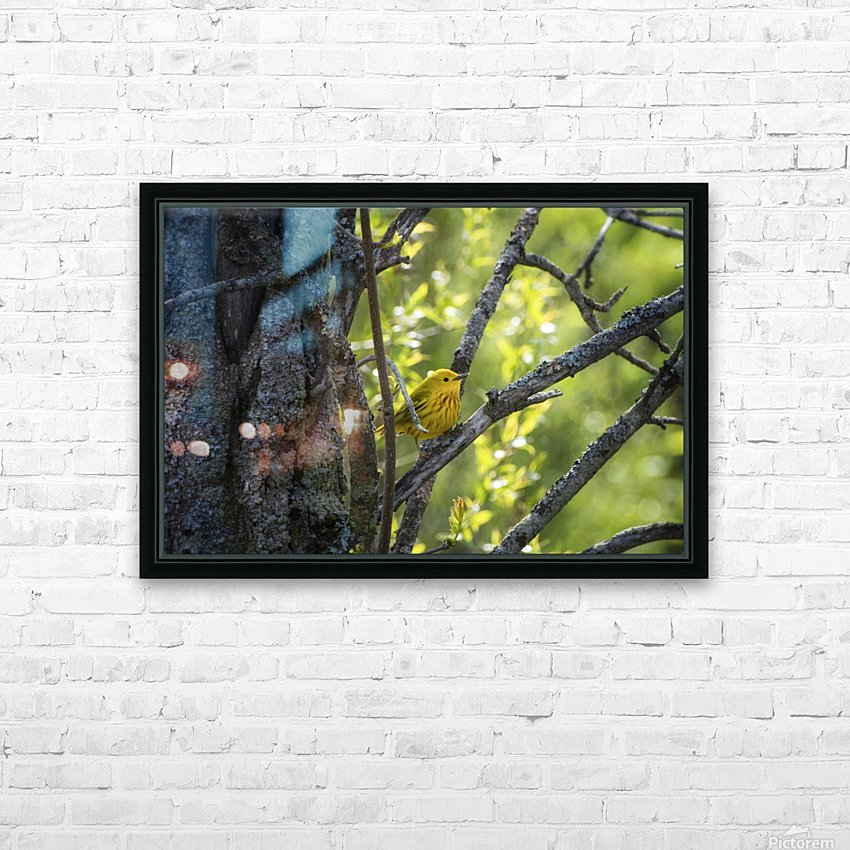 Ent HD Sublimation Metal print with Decorating Float Frame (BOX)