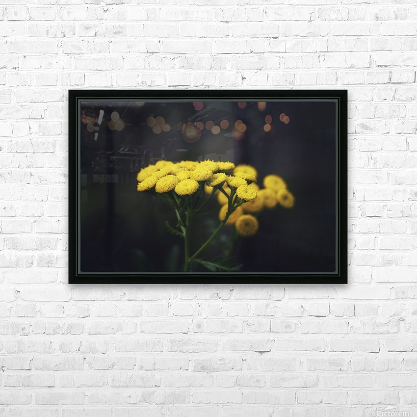 Bouquet HD Sublimation Metal print with Decorating Float Frame (BOX)