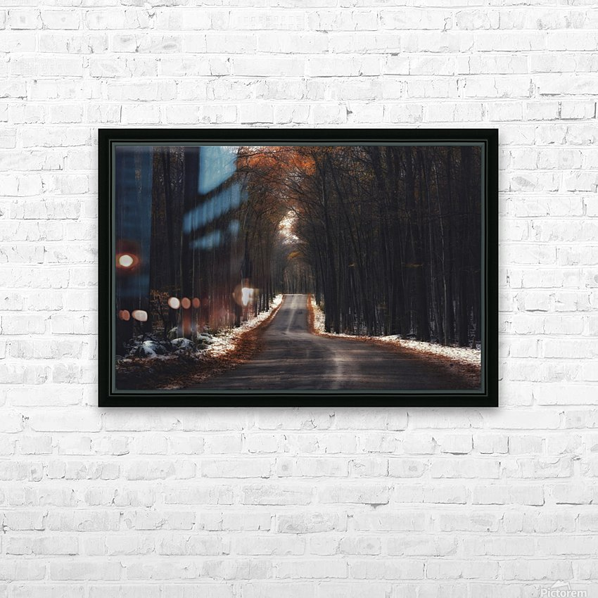 Tunnels HD Sublimation Metal print with Decorating Float Frame (BOX)