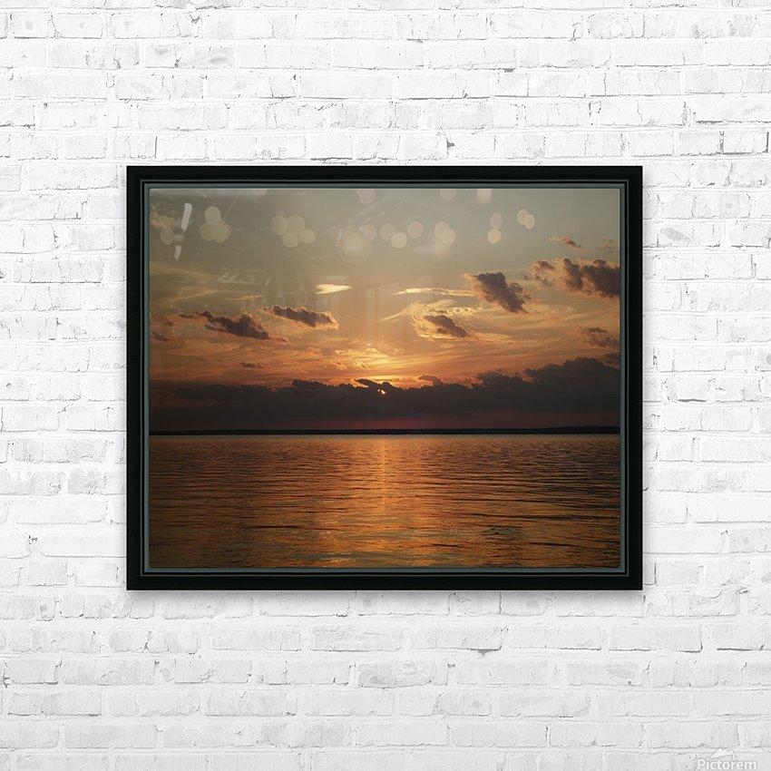 Georgian Sunrise HD Sublimation Metal print with Decorating Float Frame (BOX)