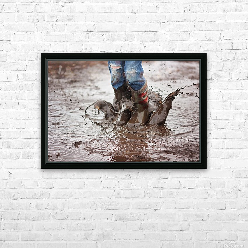 Simple Fun HD Sublimation Metal print with Decorating Float Frame (BOX)