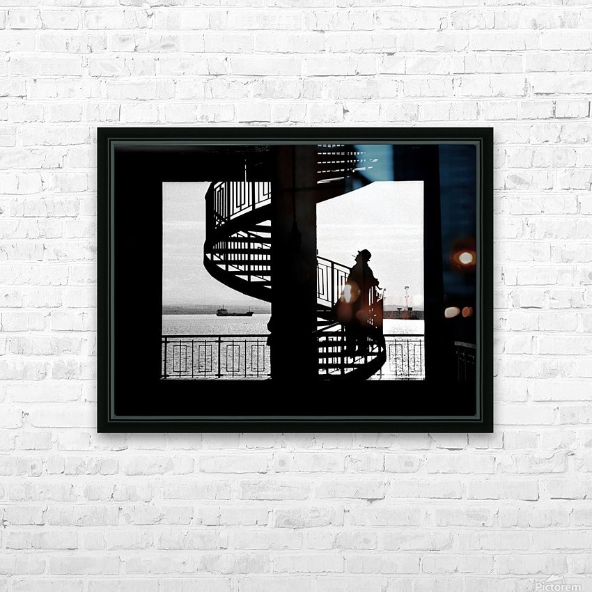 $ HD Sublimation Metal print with Decorating Float Frame (BOX)