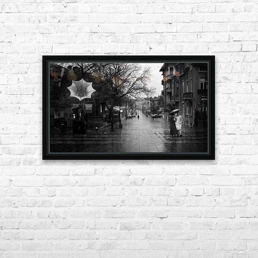 Rainy HD Sublimation Metal print with Decorating Float Frame (BOX)