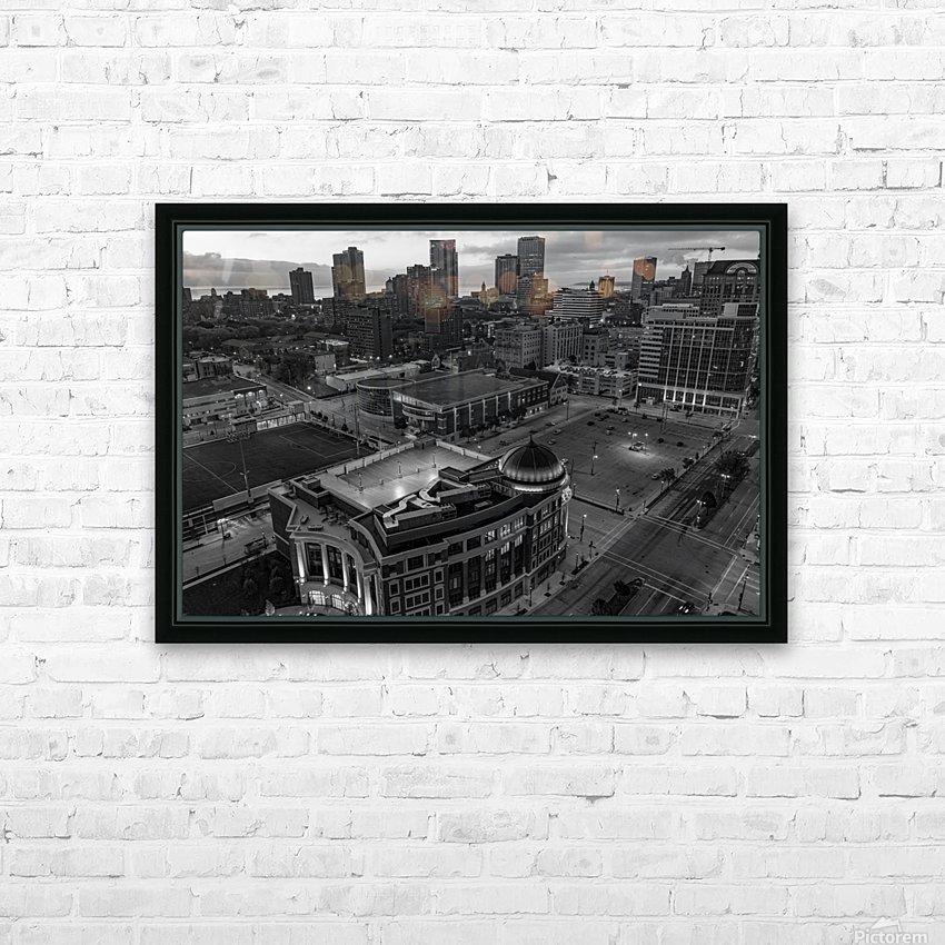 Milwaukee Majestic HD sublimation métal imprimé avec décoration flotteur cadre (boîte)