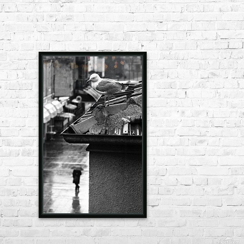 Gull HD Sublimation Metal print with Decorating Float Frame (BOX)