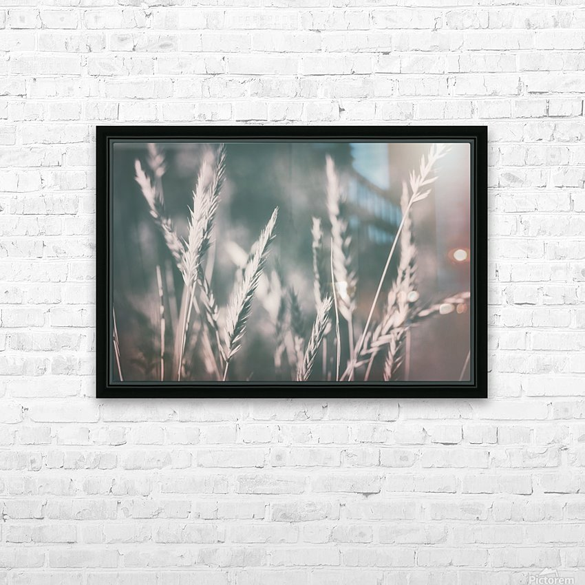 Spica in Glow HD Sublimation Metal print with Decorating Float Frame (BOX)