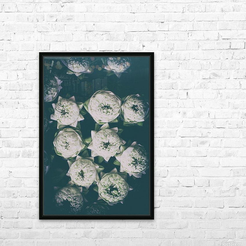 Delicacy HD Sublimation Metal print with Decorating Float Frame (BOX)