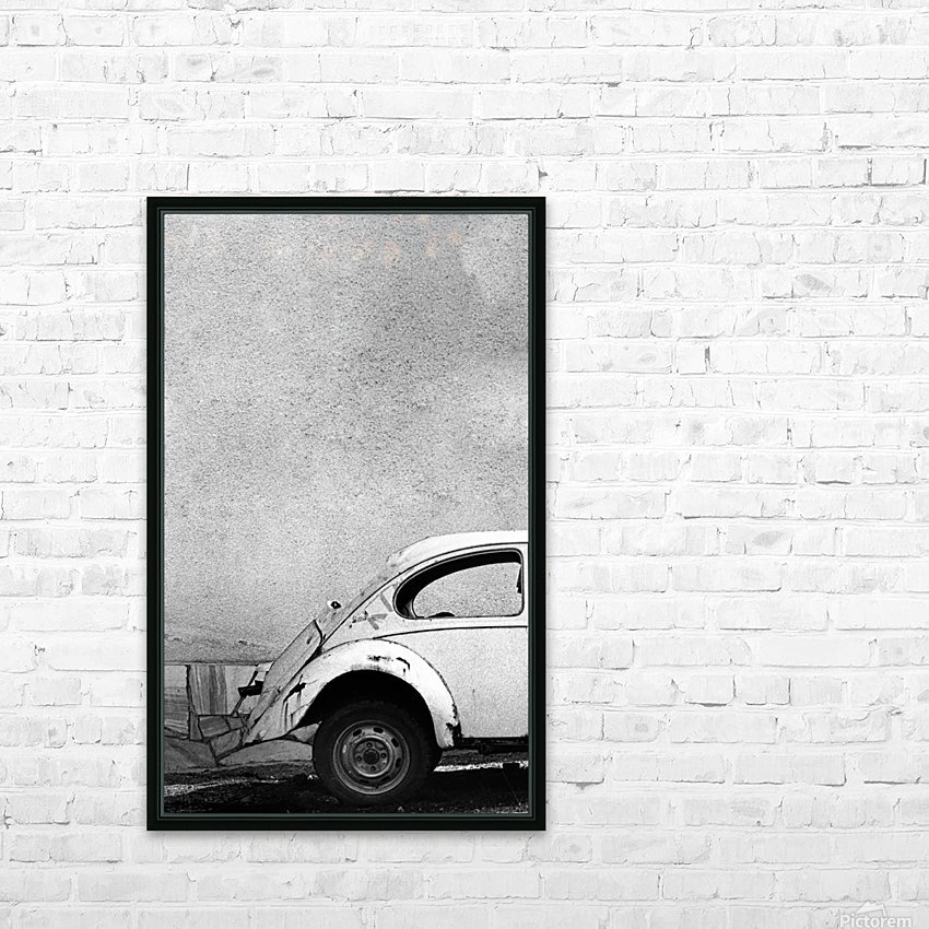 VW HD Sublimation Metal print with Decorating Float Frame (BOX)
