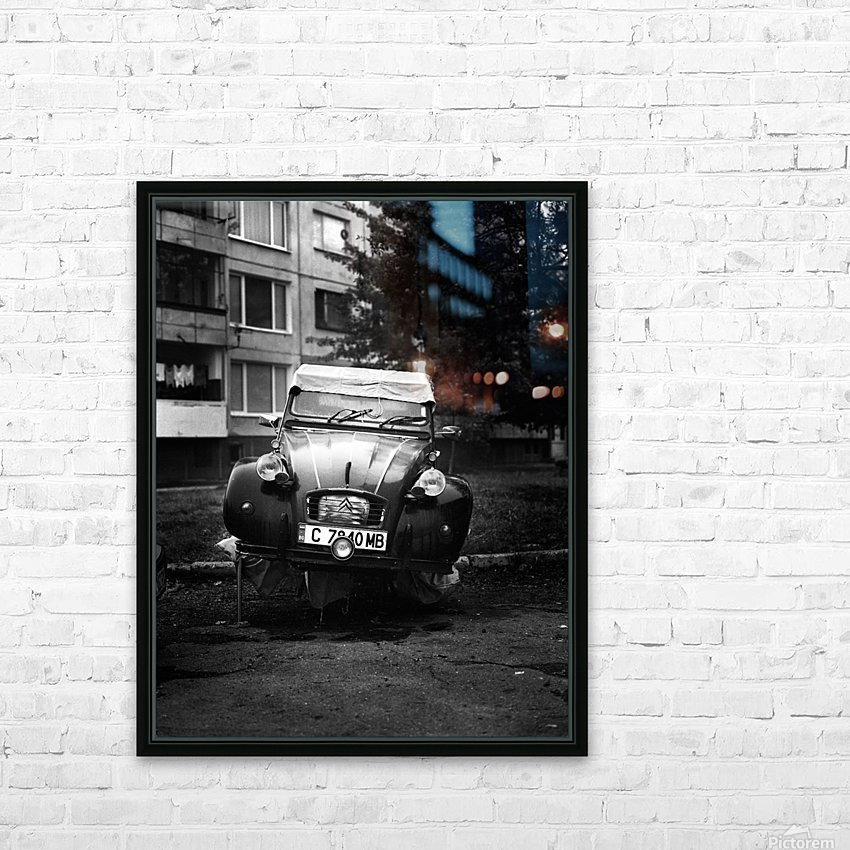 CITROEN HD Sublimation Metal print with Decorating Float Frame (BOX)