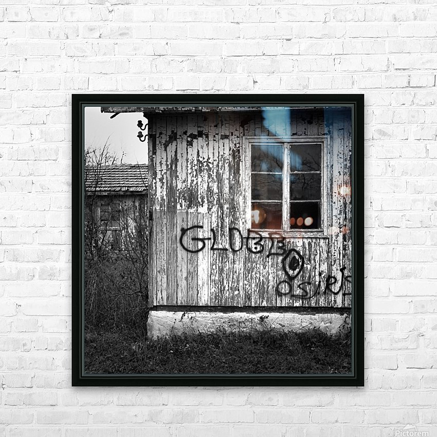 Bunagalow HD Sublimation Metal print with Decorating Float Frame (BOX)