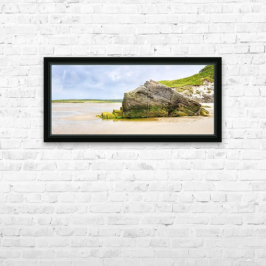 Rock Formations - Maghera Beach 6 HD Sublimation Metal print with Decorating Float Frame (BOX)