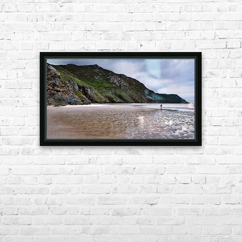 Maghera Beach - Ireland HD Sublimation Metal print with Decorating Float Frame (BOX)