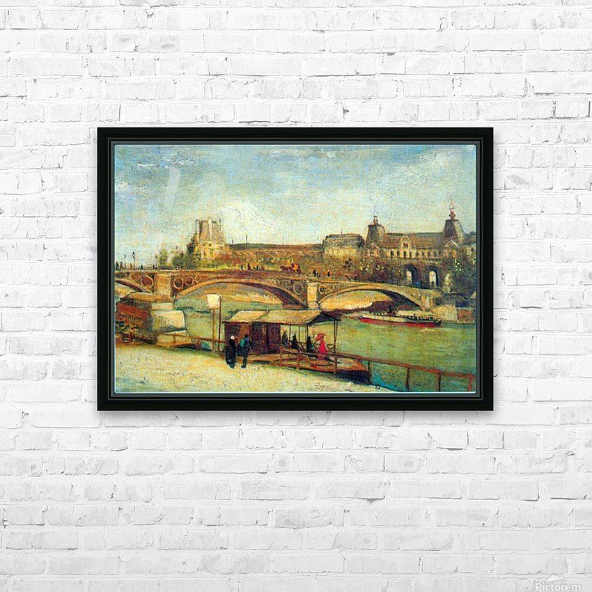 Bologne by Van Gogh HD Sublimation Metal print with Decorating Float Frame (BOX)