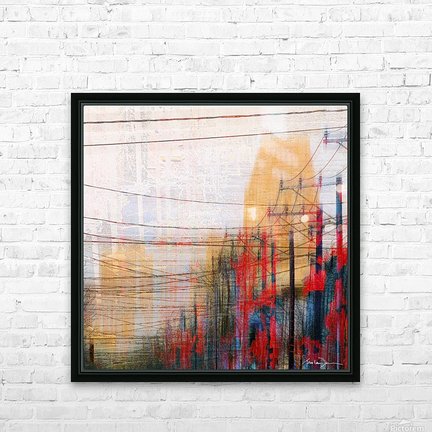 Montreal HD Sublimation Metal print with Decorating Float Frame (BOX)