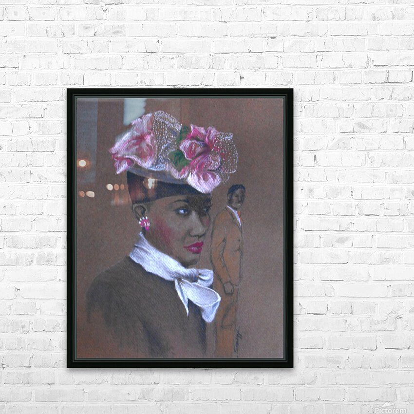 Admirer 1947 Easter Bonnet  HD Sublimation Metal print with Decorating Float Frame (BOX)