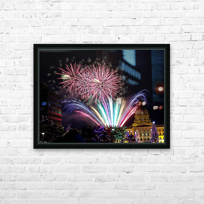 Days Gone By HD Sublimation Metal print with Decorating Float Frame (BOX)