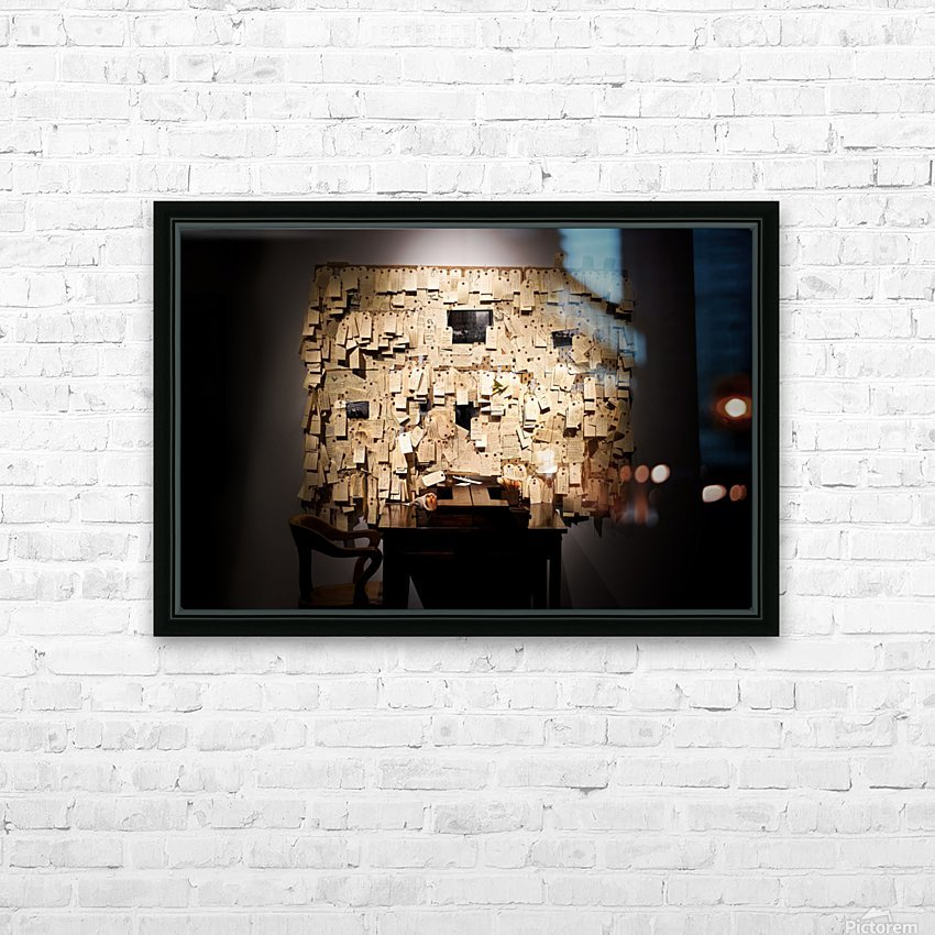 Addled HD Sublimation Metal print with Decorating Float Frame (BOX)